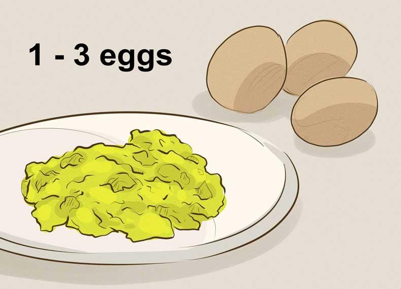تخم مرغ و ویتامین E