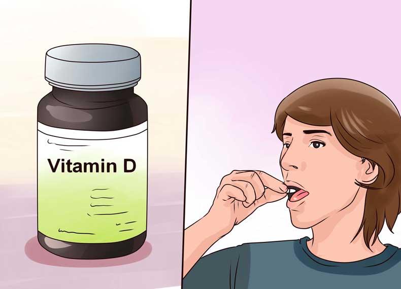 تاثیر ویتامین D روی جذب کلسیم