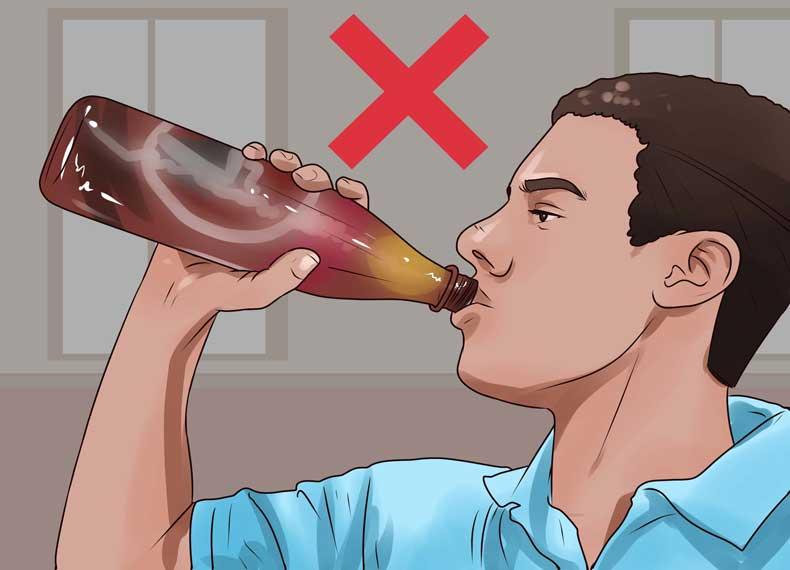 الکل و کاهش کلسیم