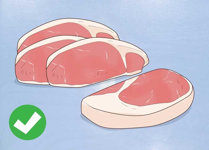 گوشت قرمز غنی از زینک