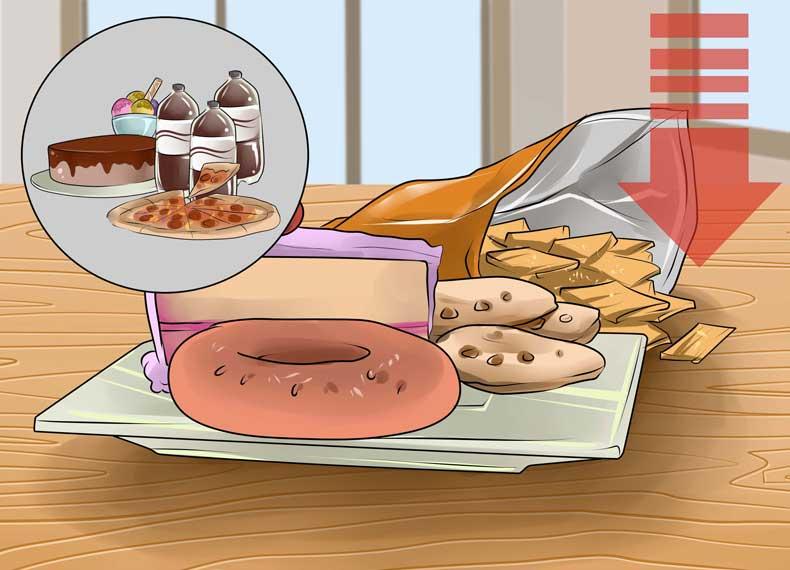 لیست موادغذایی پرچرب