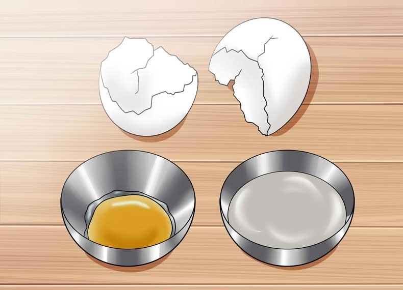کاهش چربی تخم مرغ