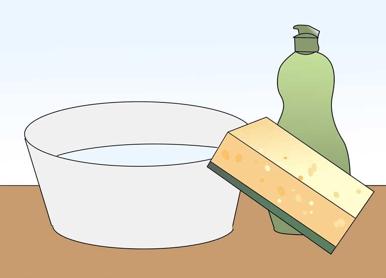 تمیز کردن سریع گاز استیل