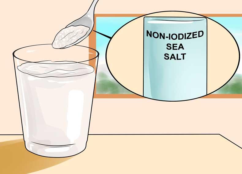 سم زدایی بدن با نمک