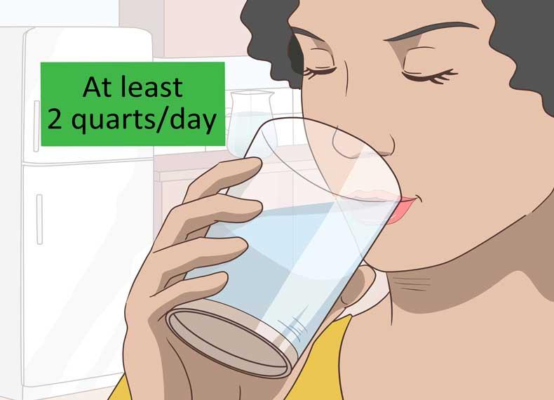 پاکسازی بدن با آب
