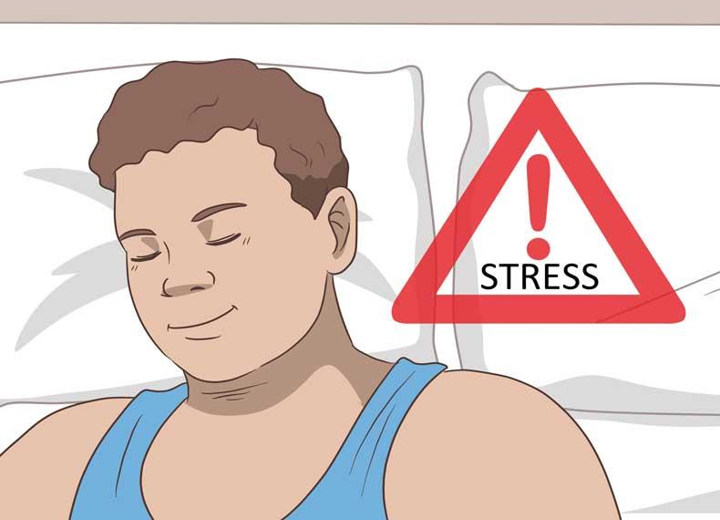 کاهش سموم بدن با استرس