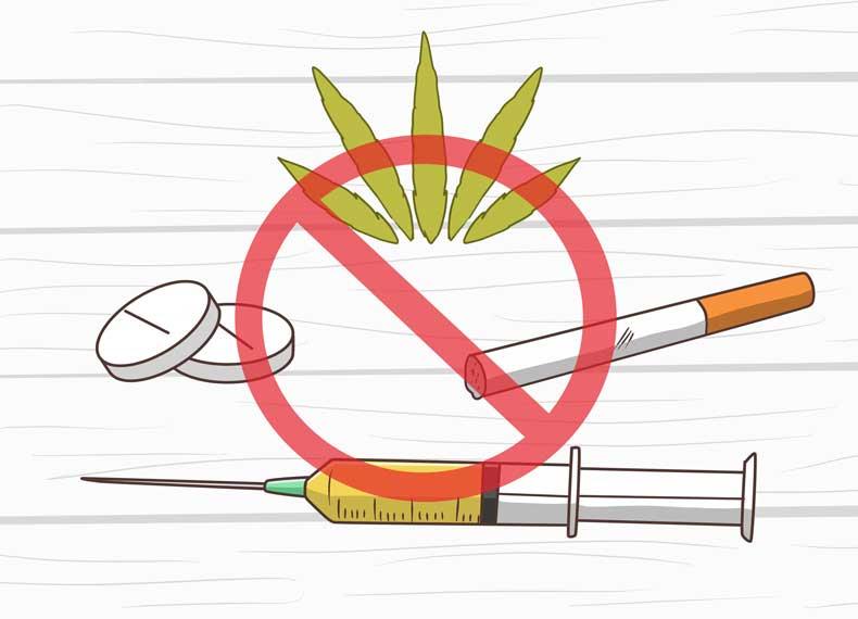 پاکسازی بدن از سیگار و مواد مخدر
