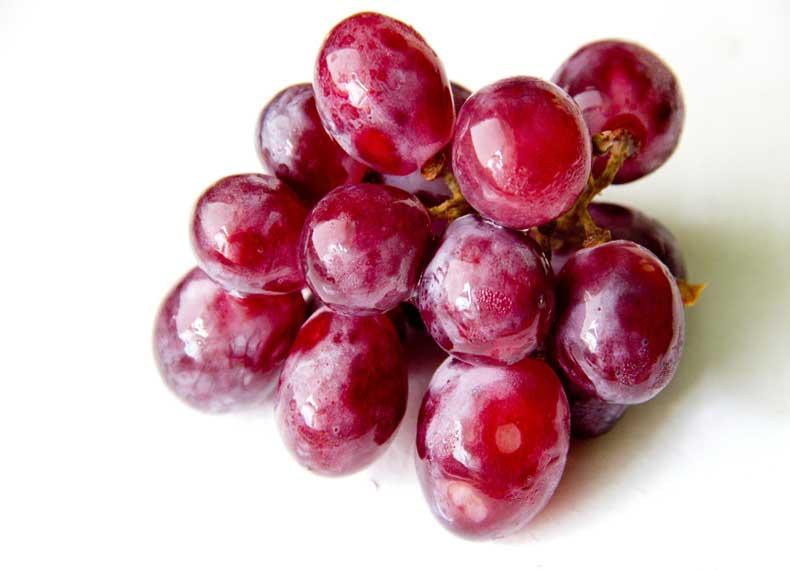 انگور و آنتی اکسیدان