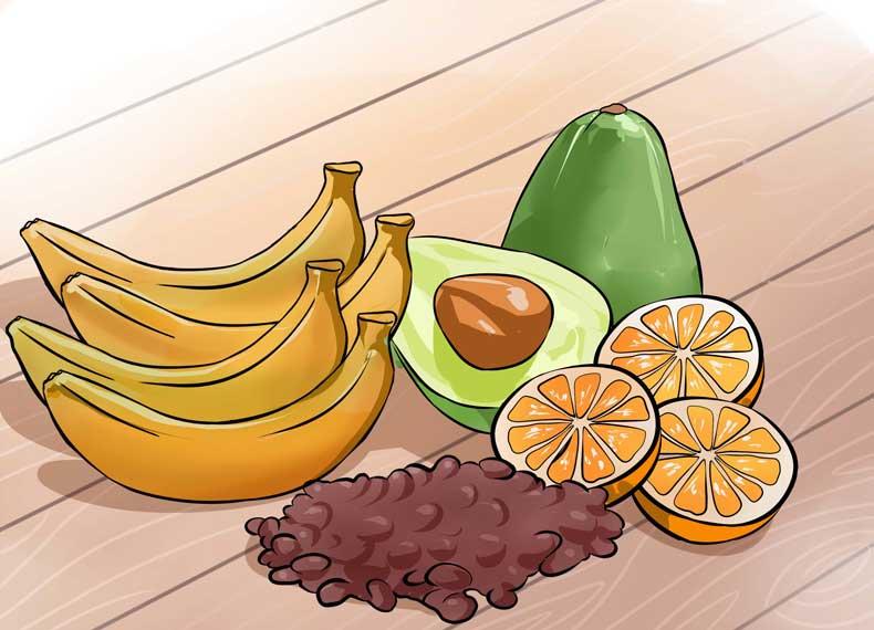 میوه های دارای سروتونین