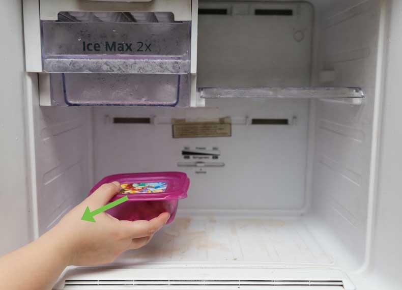 برفک زدایی یخچال