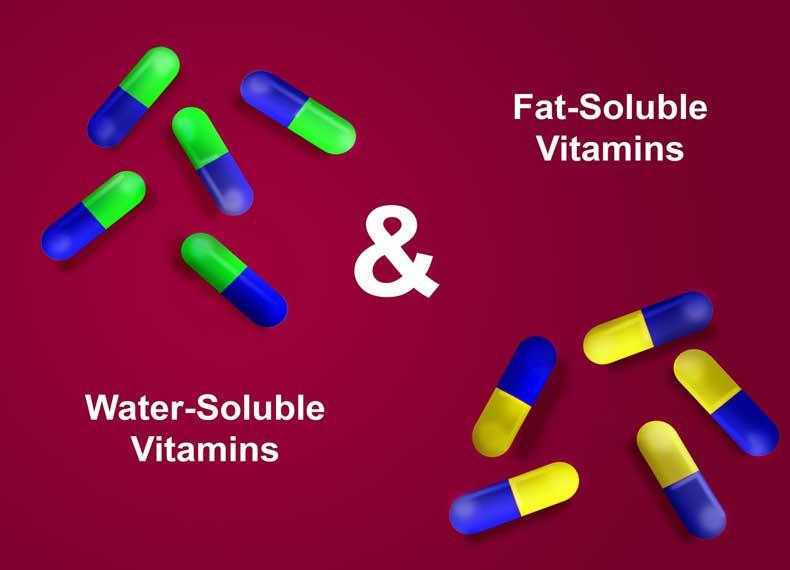 انواع ویتامین ها