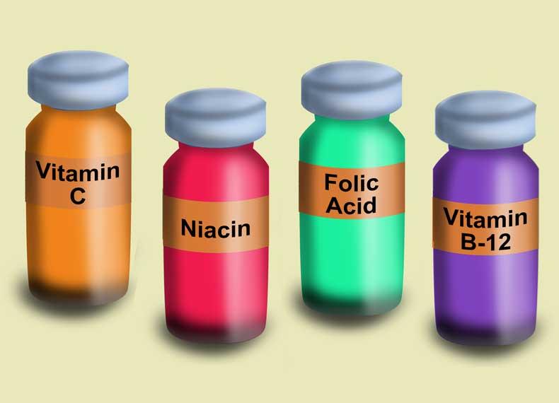 اسامی ویتامین های محلول در آب