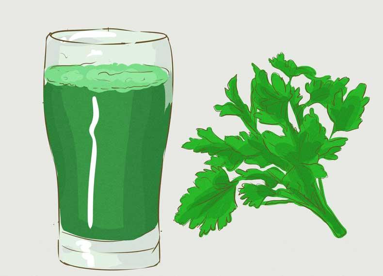 سبزی حاوی ویتامین k