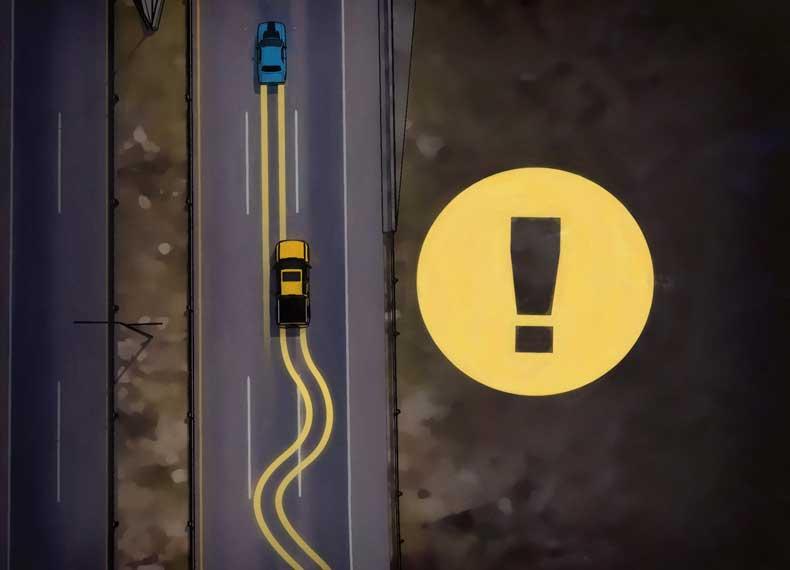 خطرات رانندگی در شب