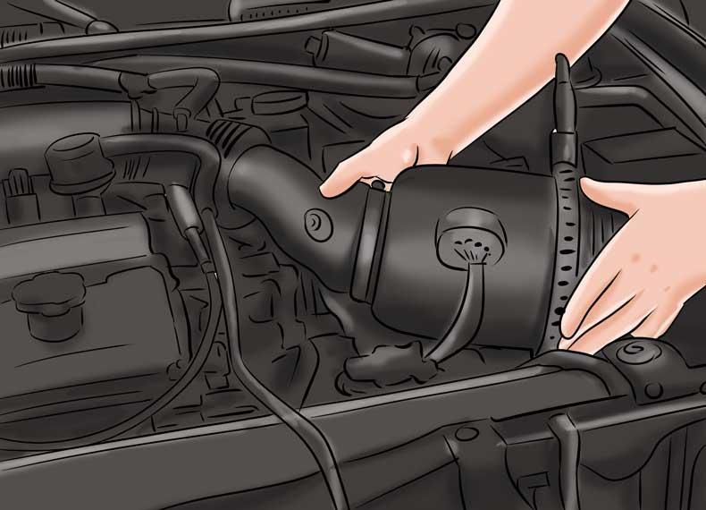 تعویض فیلتر و کاهش مصرف بنزین