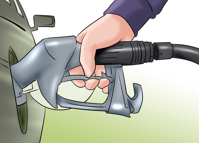 مصرف سوخت زیاد پراید
