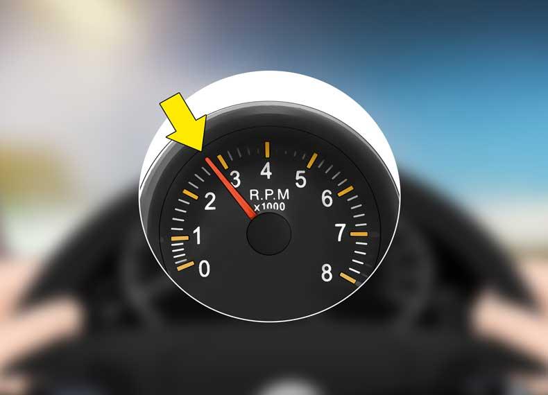 تعویض دنده با دور موتور