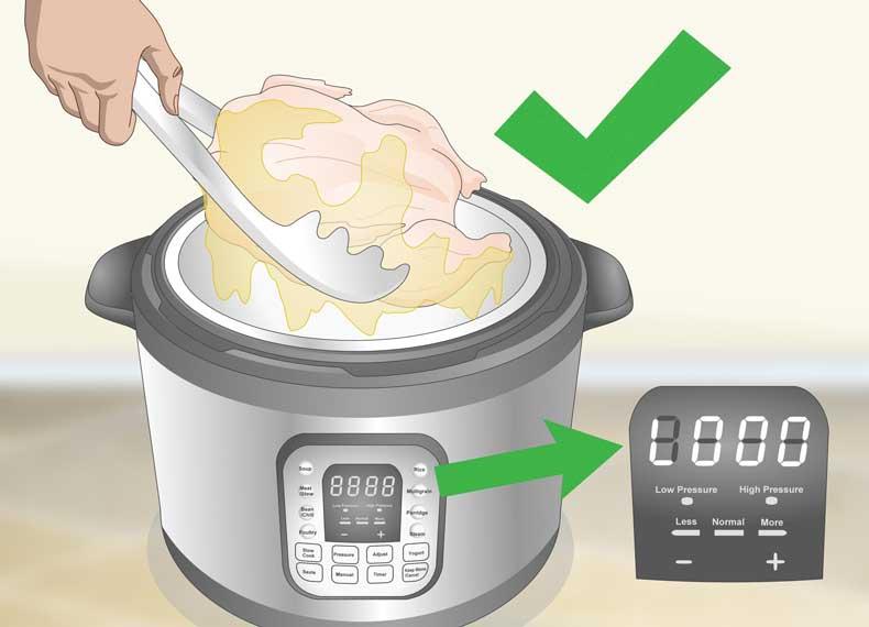 اتمام پخت زودپز برقی