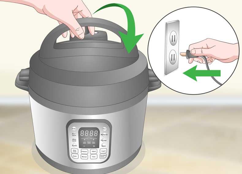 سرعت بالا در پختن غذا