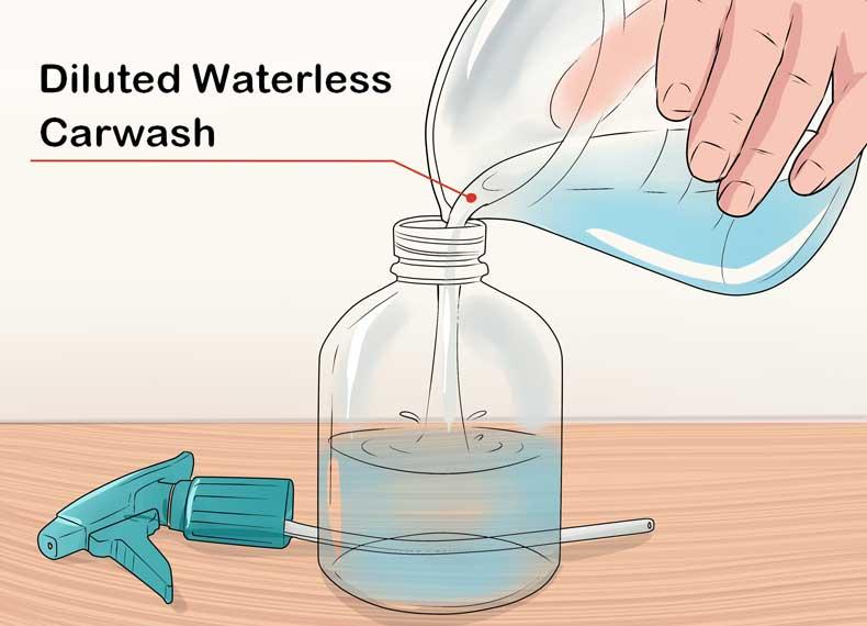 مایع شستشوی ماشین دست ساز