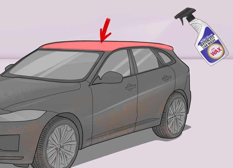 تمیز کردن ماشین بدون آب