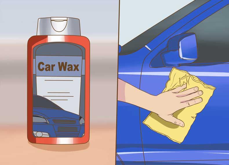 برق انداختن رنگ ماشین