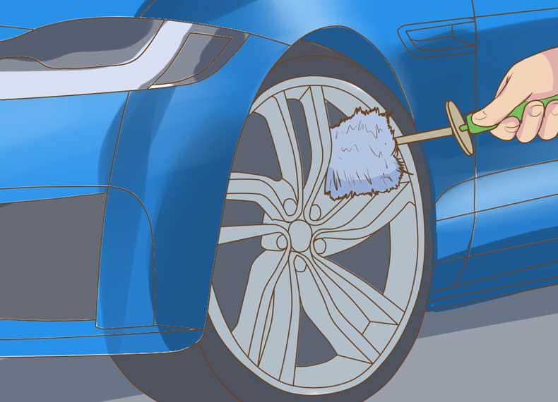تمیز کردن رینک ماشین