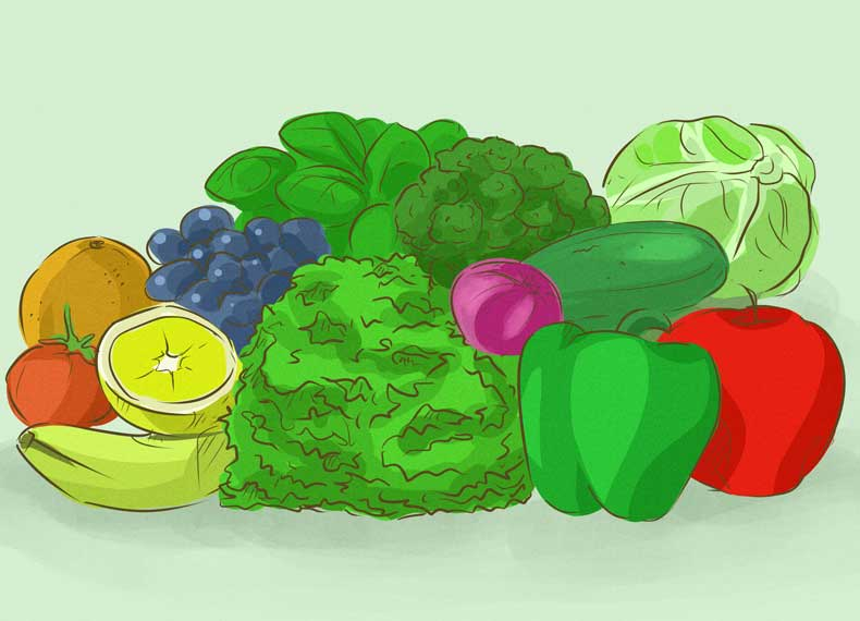 سبزیجات سم زدایی بدن