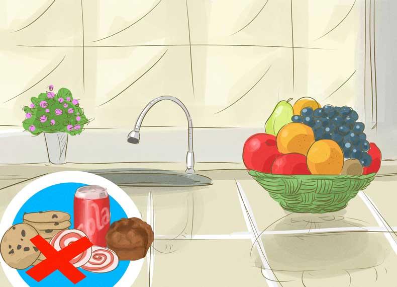 میوه و سبزی کم قند
