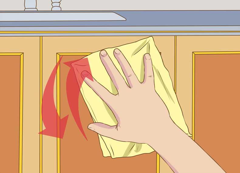 خشک کردن کابینت