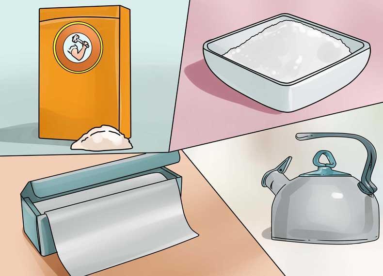 تمیز کردن جواهرات نقره ای
