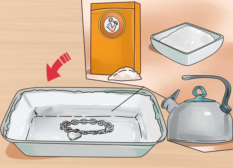 براق کردن نقره در خانه