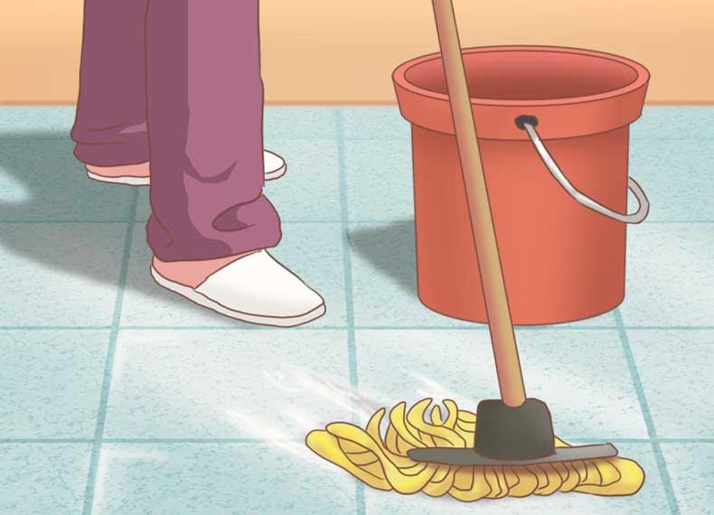 تمیز کردن اصولی سرامیک
