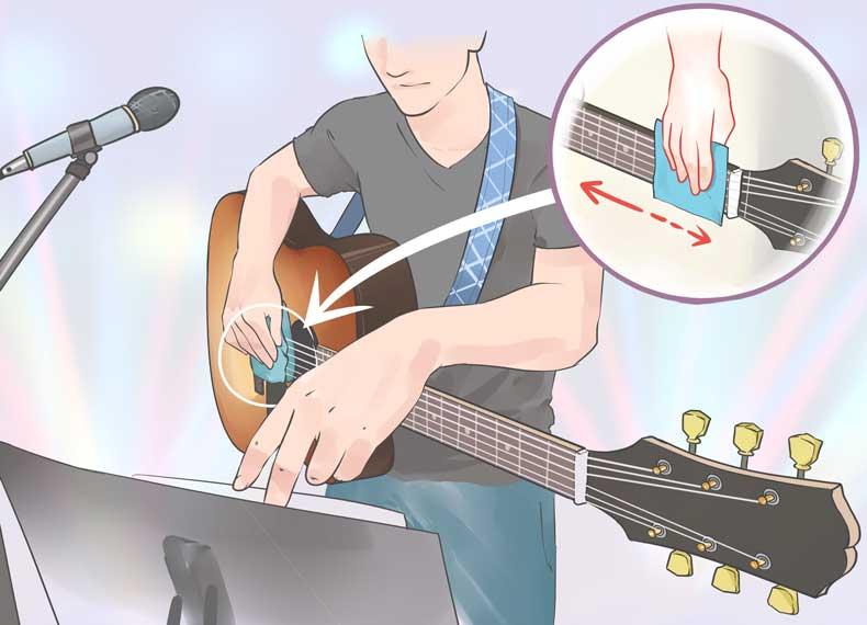 زیاد گیتار زدن