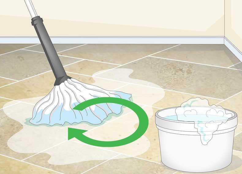 تمیز کردن کف