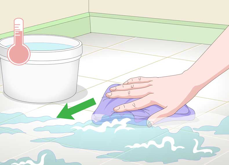 پاک کردن سرامیک
