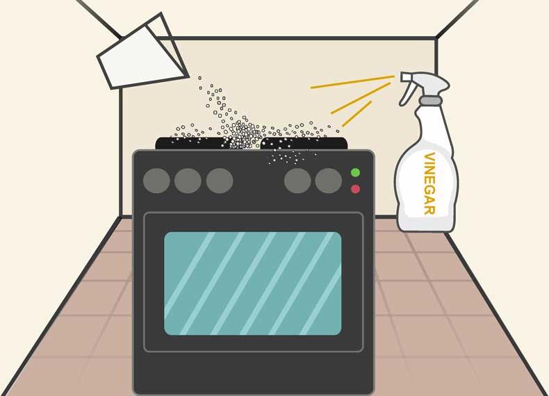 تمیز کردن گاز