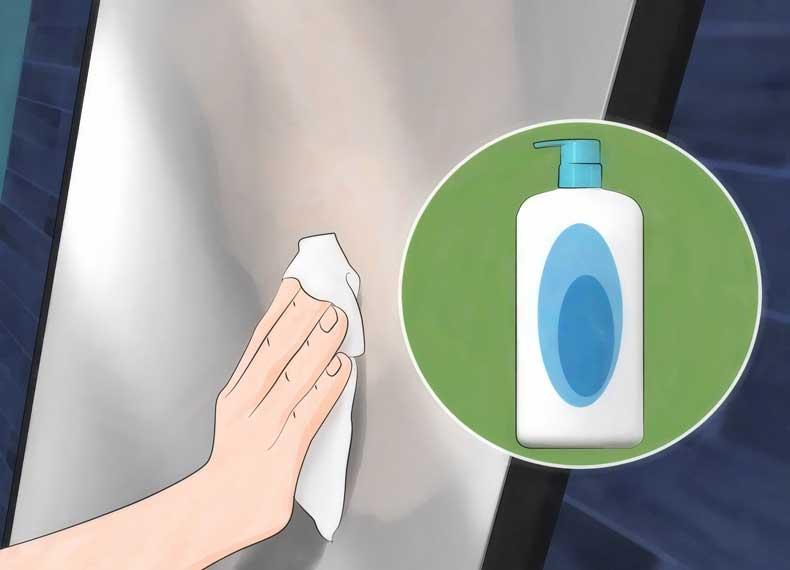 از بین بردن بخار شیشه