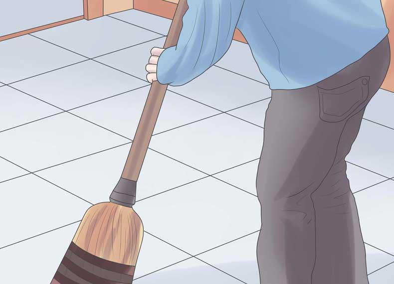 از بین بردن گردوخاک خانه