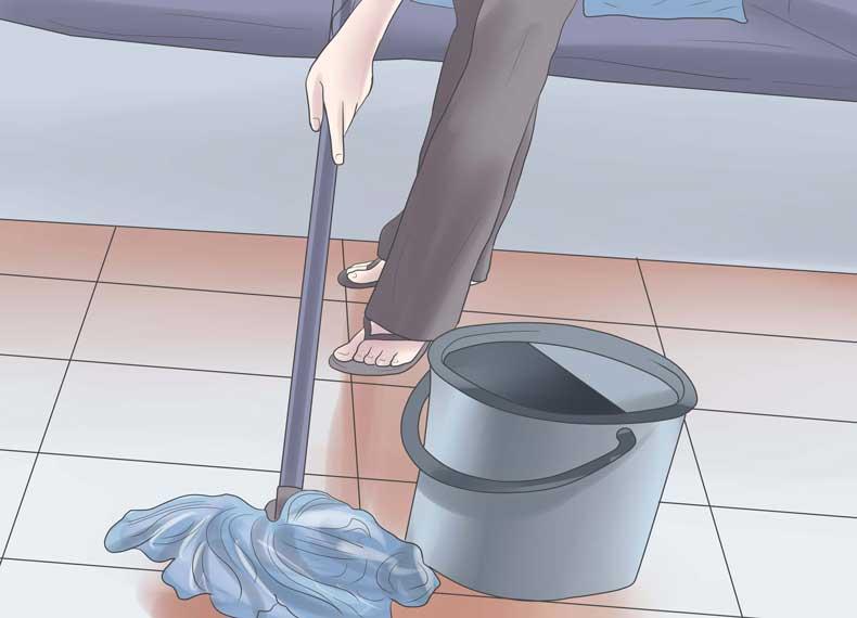 کاهش گردوغبار خانه