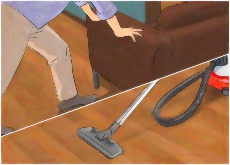 بخارشویی کف