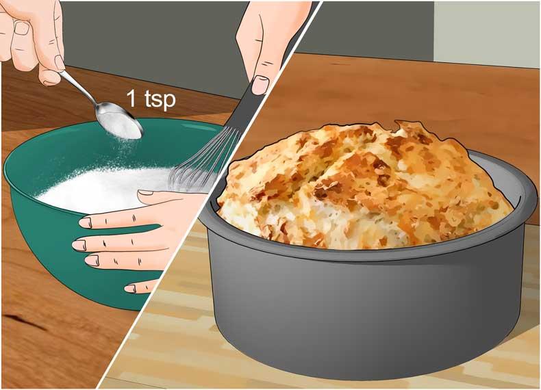 پخت و پز با جوش شیرین
