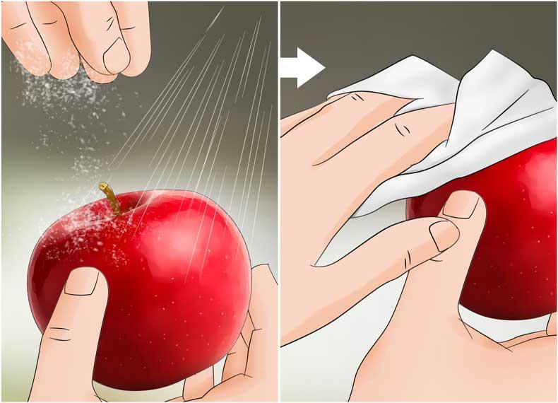 تمیز کردن با جوش شیرین