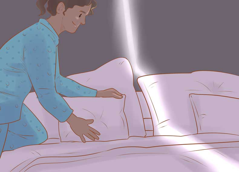 بهبود وضعیت خواب