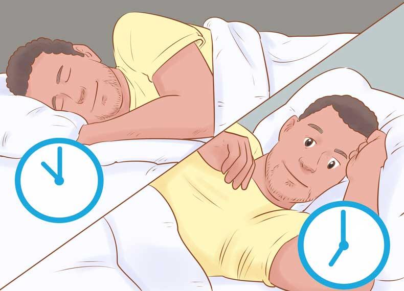 ساعت مناسب خواب