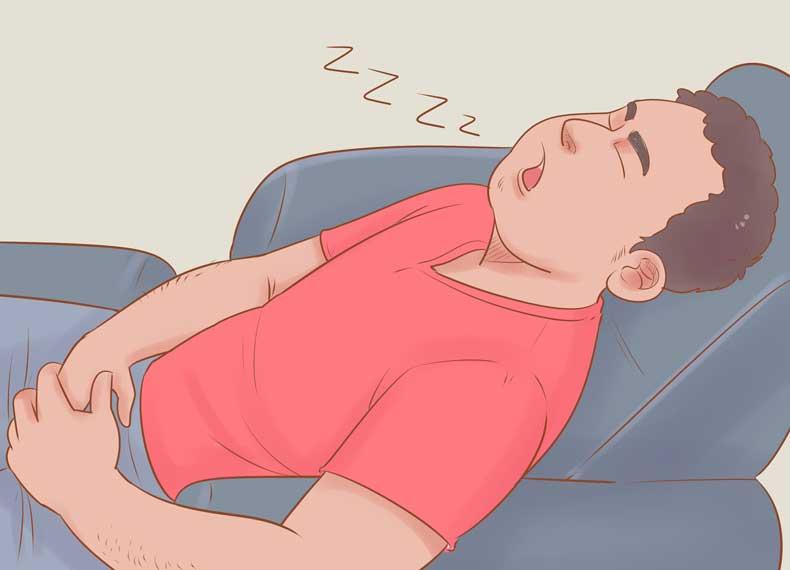 خواب روزانه و خراب شدن خواب شبانه