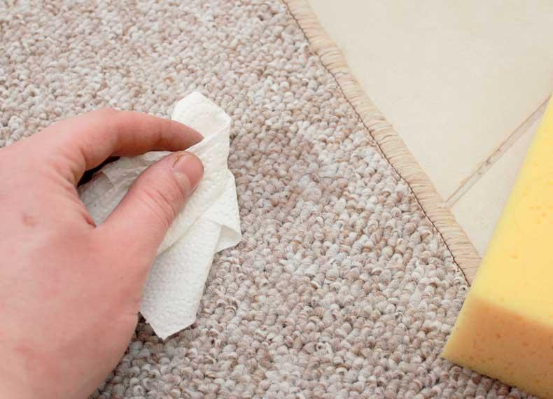 جذب لکه فرش