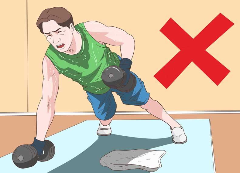 ورزش سنگین در هنگام روزه آب