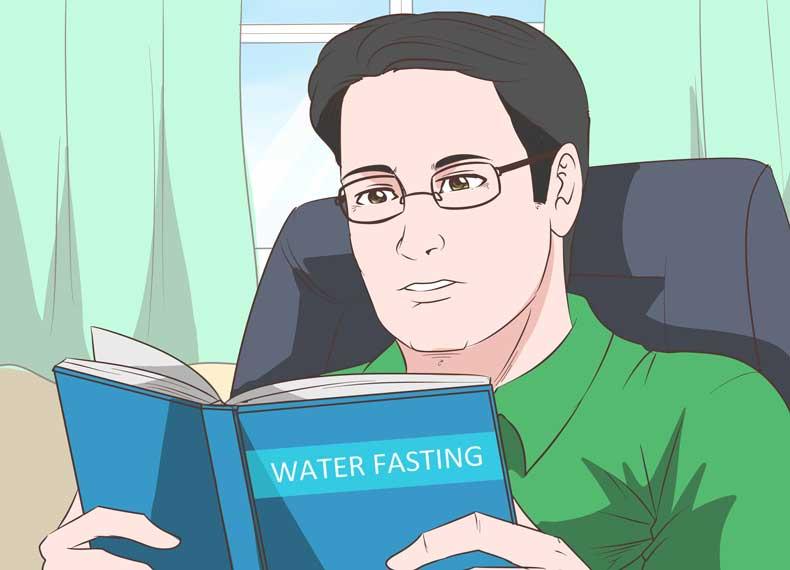 اطلاعات در مورد روزه آب