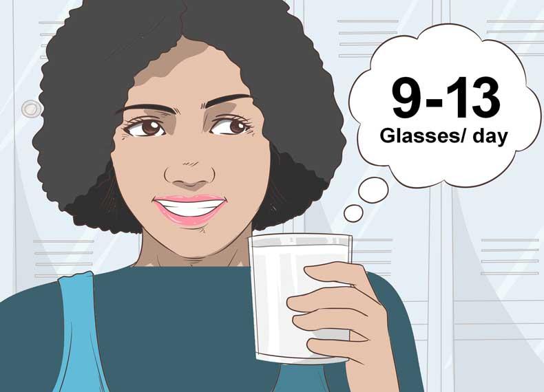 مقدار آب مصرفی در روزه آب